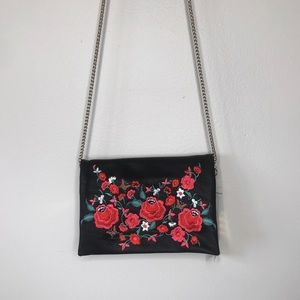 NEW Floral Embroidered Crossbody